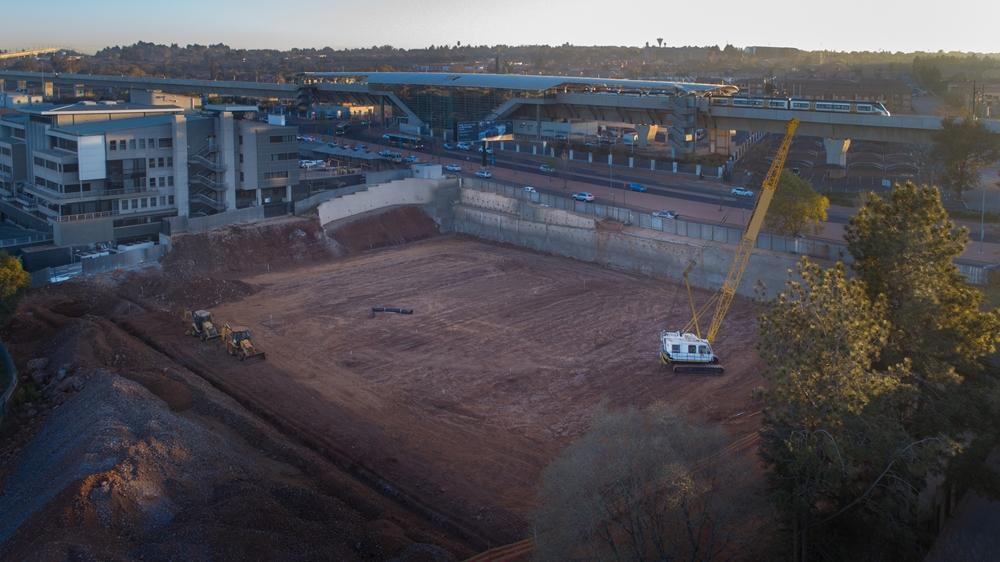 Geotechnically challenging project for Growthpoint delivered to international standards